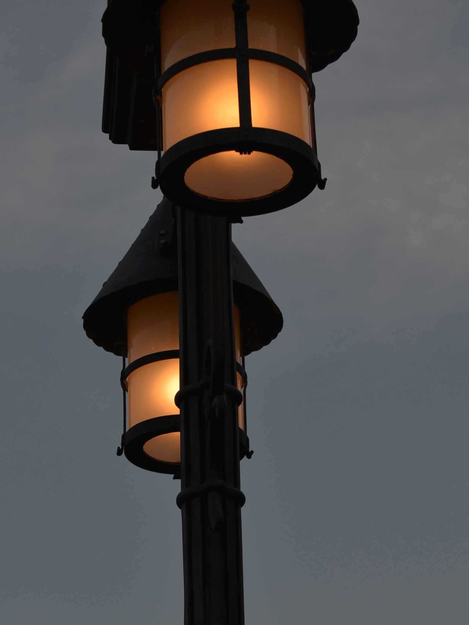 孤獨的街燈